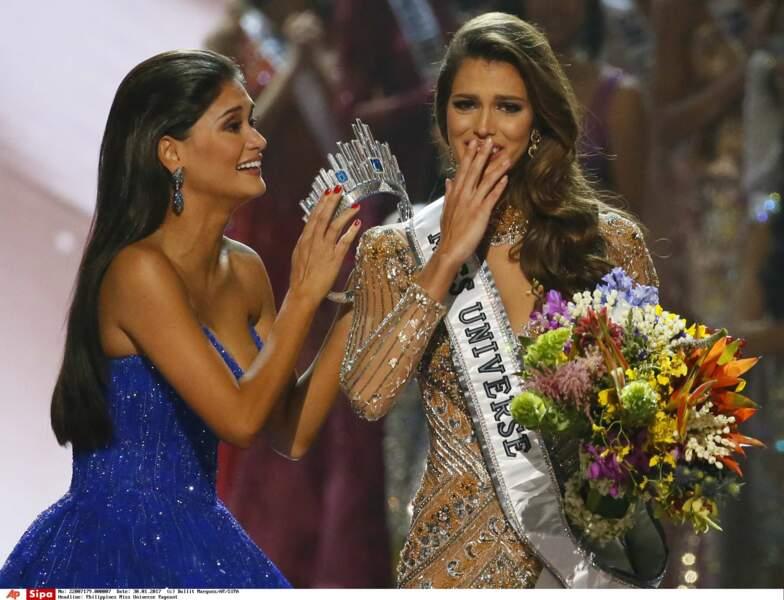 La Miss France n'en revenait pas d'être Miss Univers !