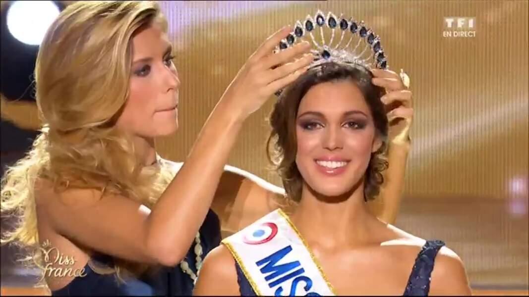 Sacrée, elle succède à Camille Cerf, également Miss Nord-Pas-de-Calais