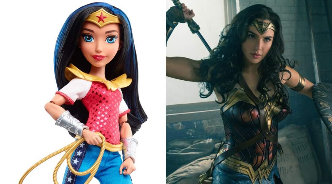 Wonder Woman a droit à un film en solo avec Gal Gadot dans le rôle titre et à une poupée ! Classe !