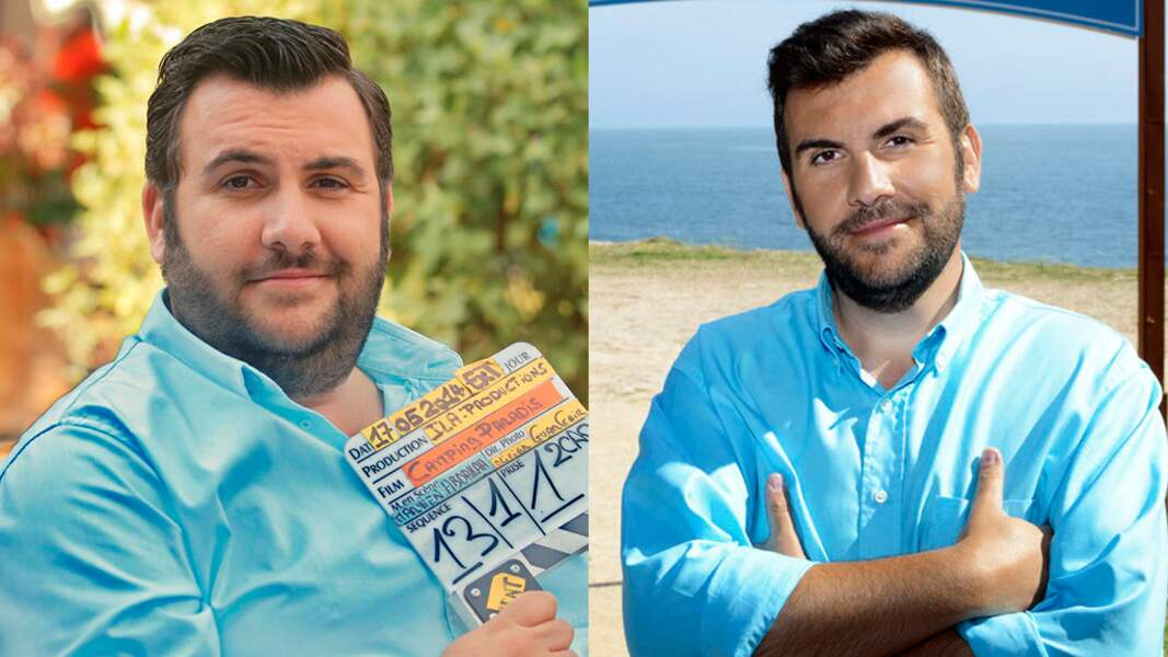 Au total, Laurent Ournac a perdu 45 kilos !