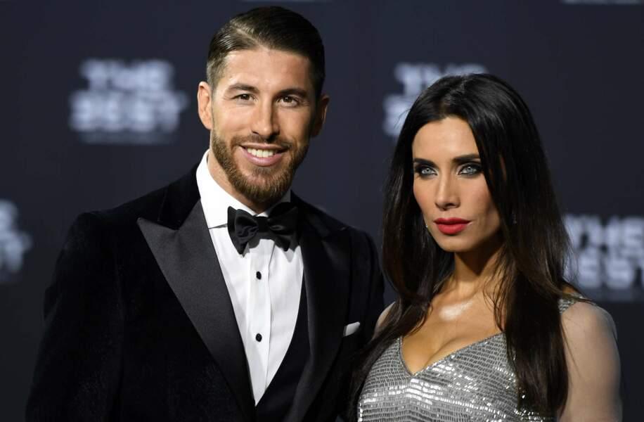 Sergio Ramos et sa ravissante épouse Pilar Rubio, couple le plus glamour du tapis rouge !