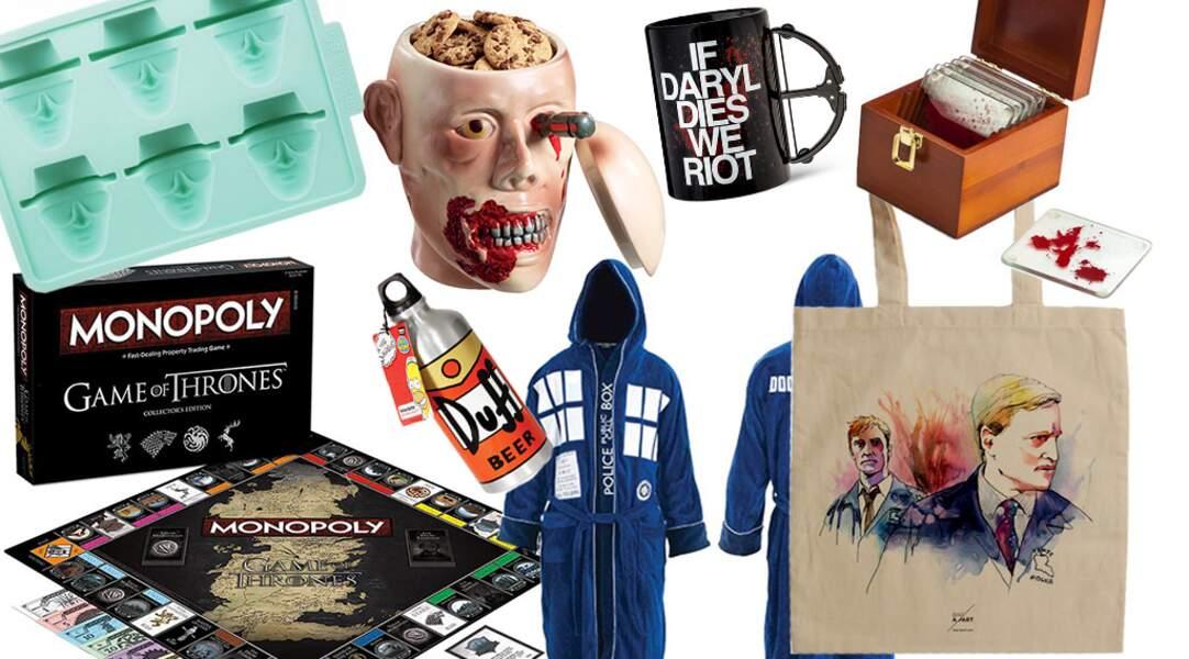 55 idées cadeaux pour les fans de séries télé !