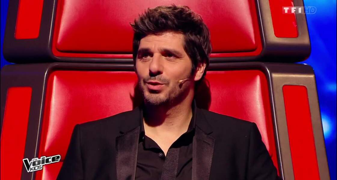 Patrick Fiori, à 45 ans, dans la 2e saison de The Voice Kids