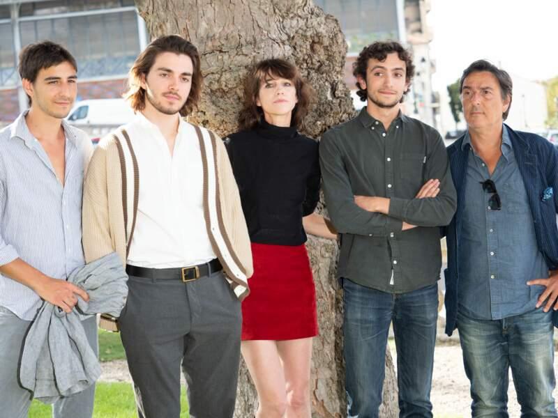 Toute l'équipe de Mon chien Stupide, le film d'ouverture du Festival d'Angoulême