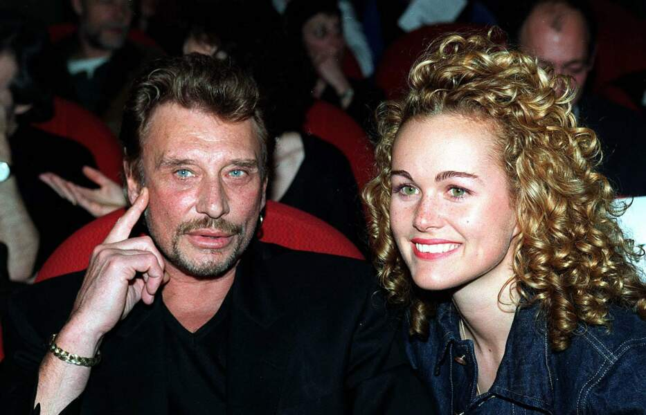 En 1995, Johnny rencontre Laeticia ...