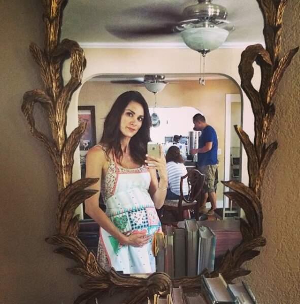 Stefania Spampinato serait-elle maman ? Non, ça, c'était pour un film