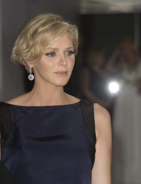 La belle Charlène de Monaco.
