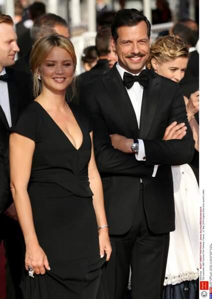Dans le film, Virginie Efira et Laurent Lafitte sont en couple