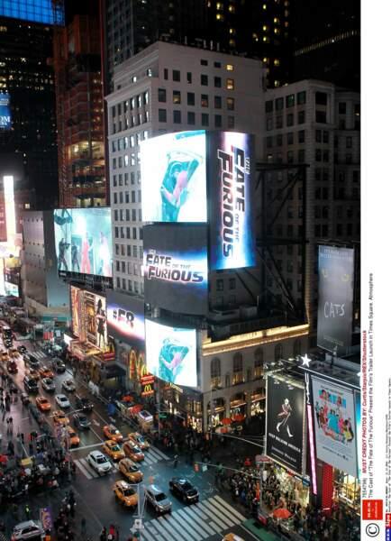 Hier soir, il fallait être à New York City, sur Times Square, pour le lancement de la BA de FF8
