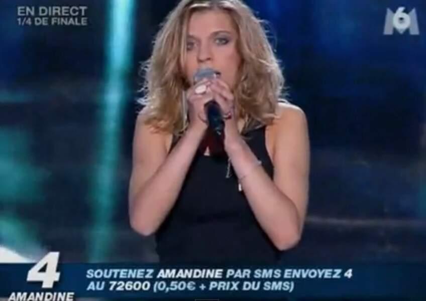 Amandine Bourgeois (saison 6)