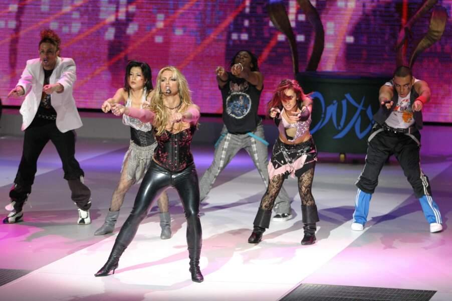 Britney Spears en pleine forme en 2004
