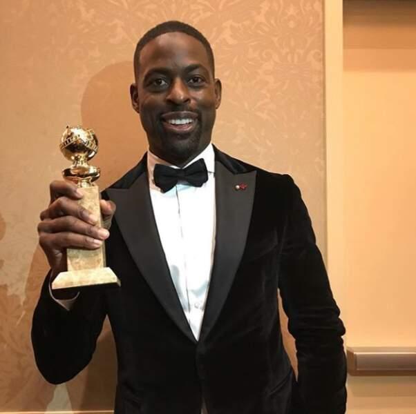 Sterling K. Brown est le premier homme noir à remporter le trophée du meilleur premier rôle masculin dans un drama