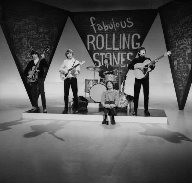 Les Rolling Stones à la télévision britannique en 1965