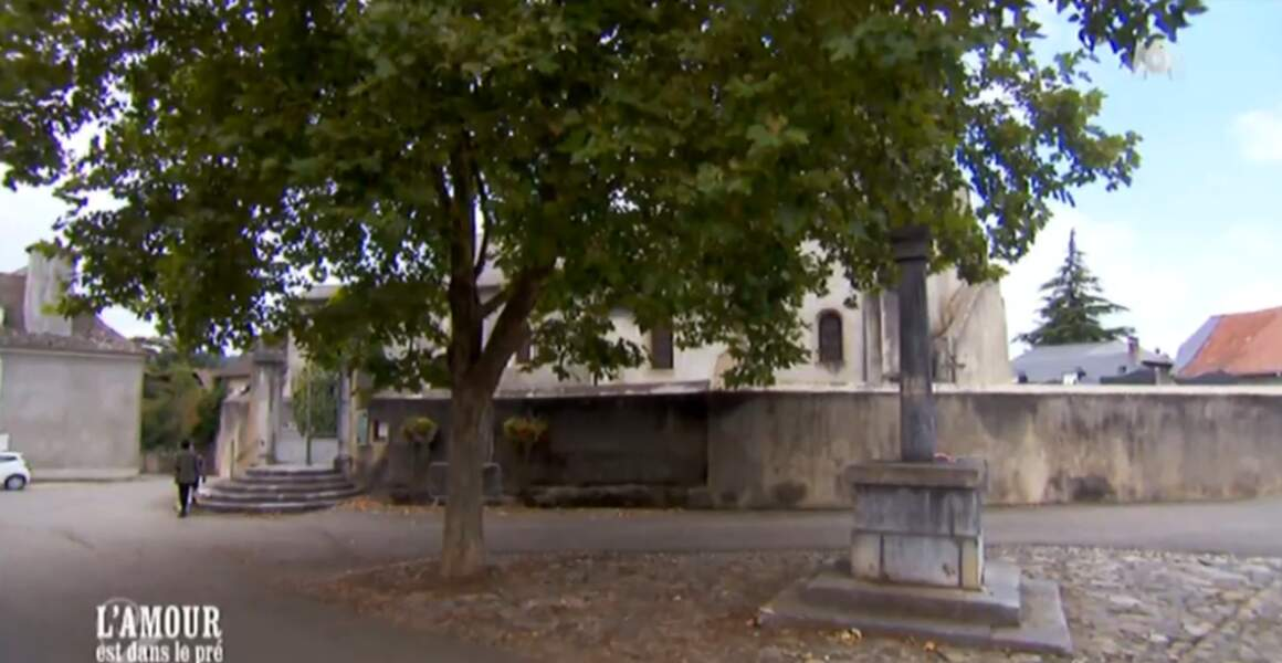 Le cimetière communal, un lieu sympa pour discuter