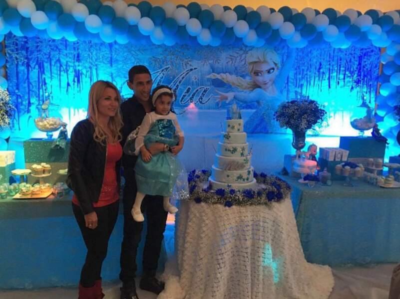 Qui en a aussi profité pour offrir un super anniversaire à sa fille Mia !