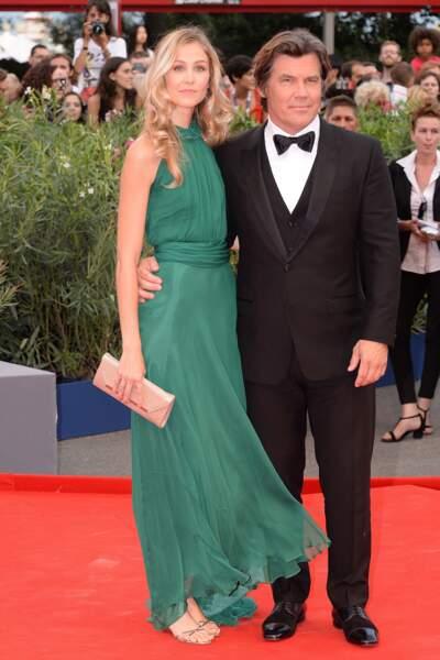 Josh Brolin et son épouse Kathryn Boyd, venus présenter en ouverture Everest.