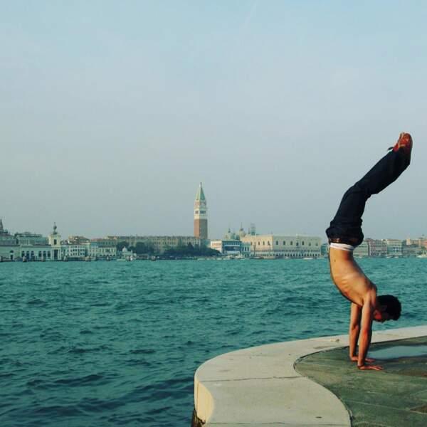 Miguel Angel Muñoz a fait des folies de son corps à Venise.