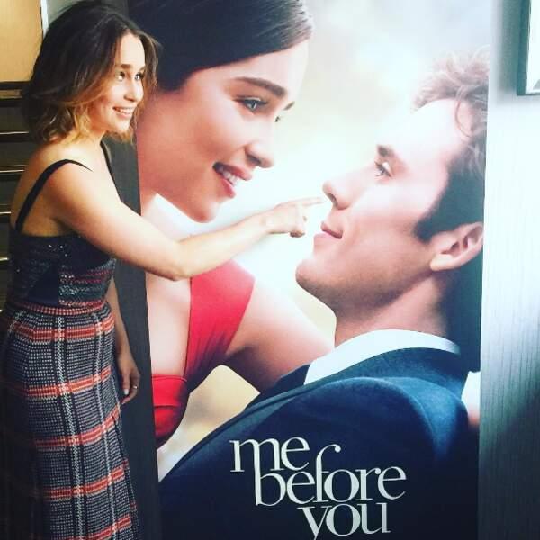 Elle met les doigts dans le nez de ses partenaires au cinéma