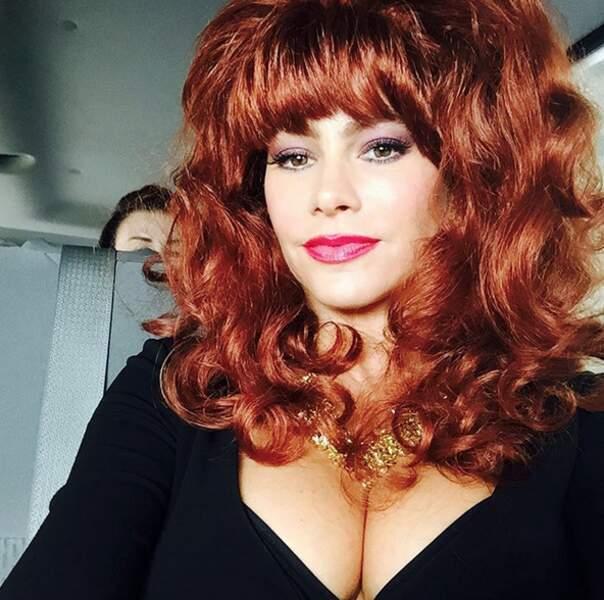 Point coiffure : choucroute pour Sofia Vergara.