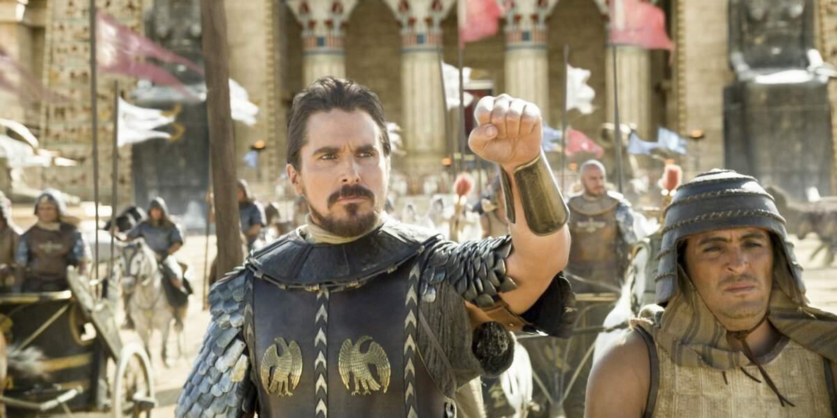 Christian Bale montre moins de peau mais reste super sexy dans Exodus : Gods and Kings (2014)