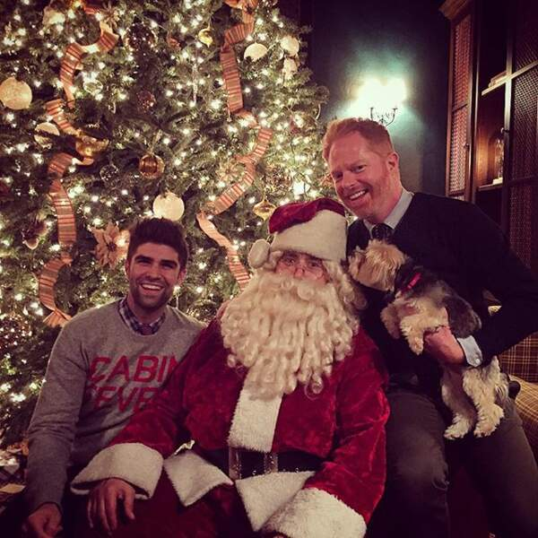 Jesse Tyler (Modern Family) fête Noël avec son mari !