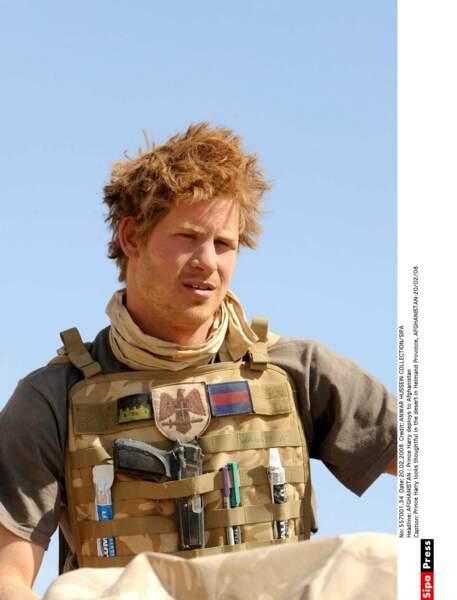 2008 Le Prince Harry au front en Afghanistan