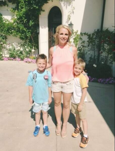 Britney Spears et ses fils : TELLEMENT MIGNON !