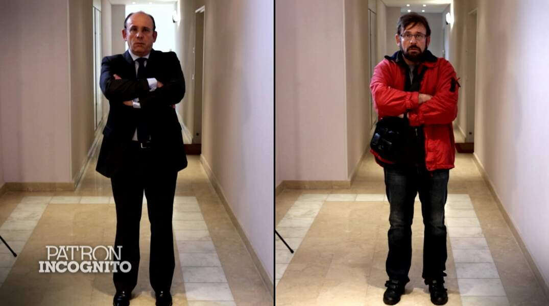 Voici Eric Romedenne, PDG de La compagnie du lit, avant et après sa transformation