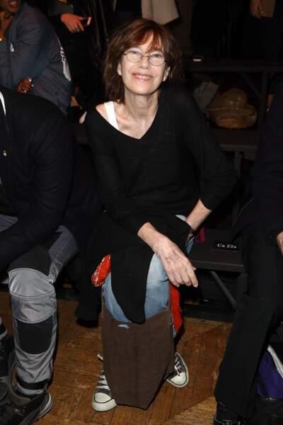 L'actrice et chanteuse Jane Birkin