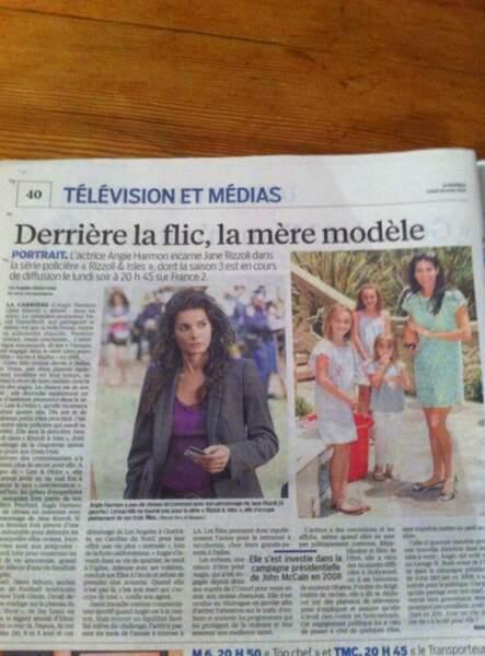 Angie elle, achète la presse française