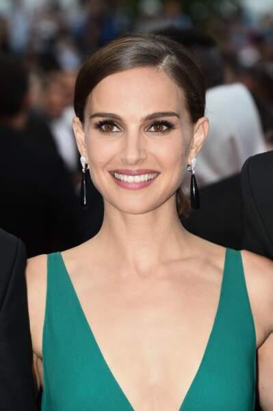 Natalie Portman n'était pas accompagnée de son époux mardi soir sur le tapis rouge !