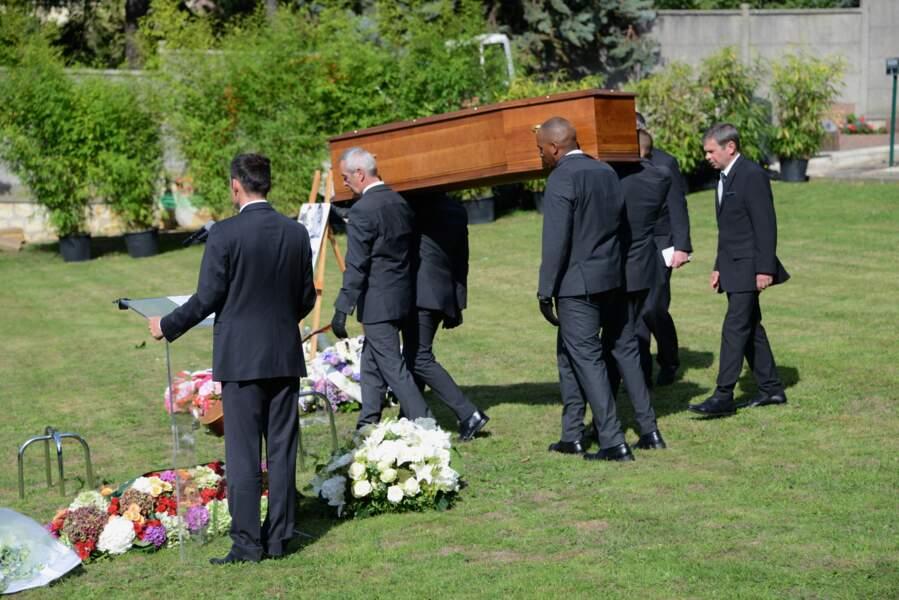 Le cercueil de Guy Béart