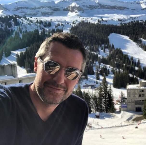 Selfie au soleil pour Arnaud Ducret.