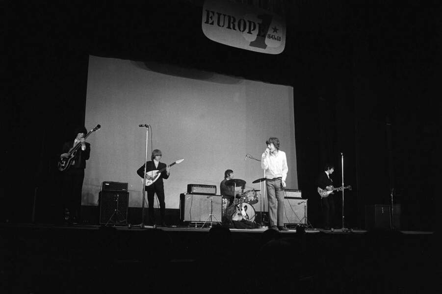Les Rolling Stones à l'Olympia de Paris en juin 1965
