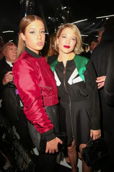 Adele Exarchopoulos et Lea Seydoux