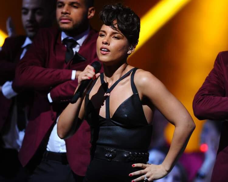 "Alicia Keys a mis le public ""on fire""."