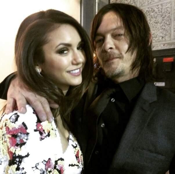 Nina Dobrev a rencontré Daryl #jalousiebis