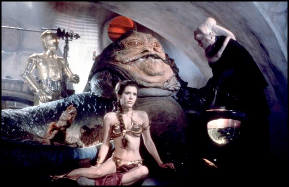 Prisonnière de Jabba dans Le retour du Jedi (1986)