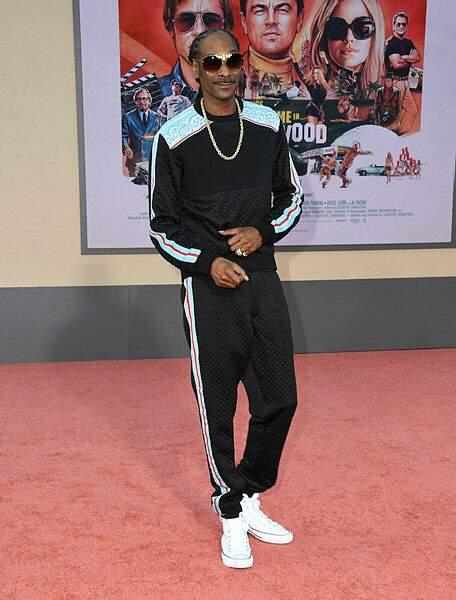 Le rappeur Snoop Dogg