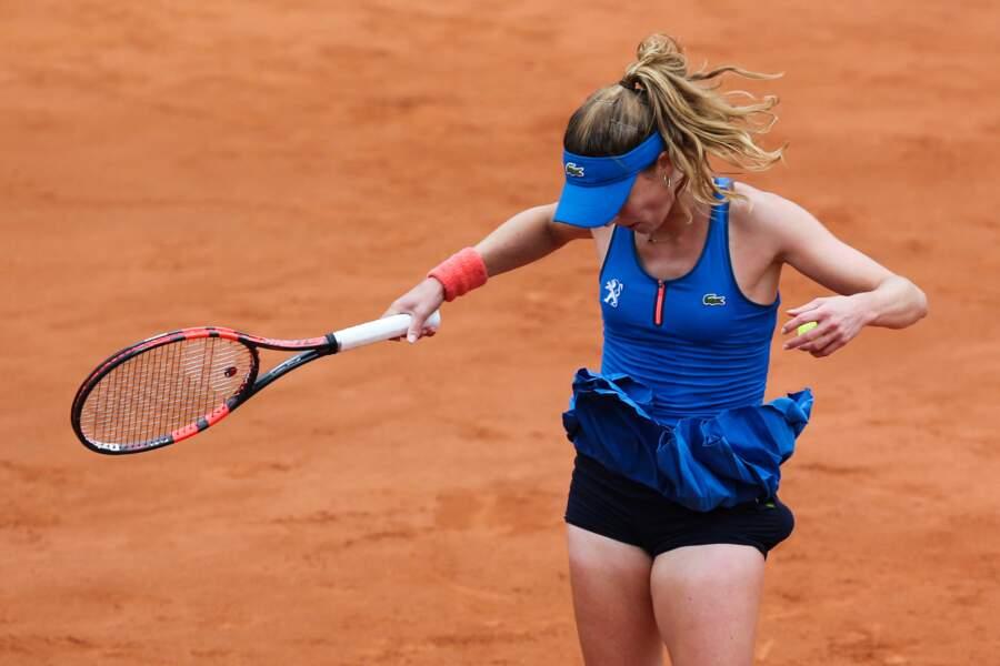 Coup de vent à Roland-Garros !