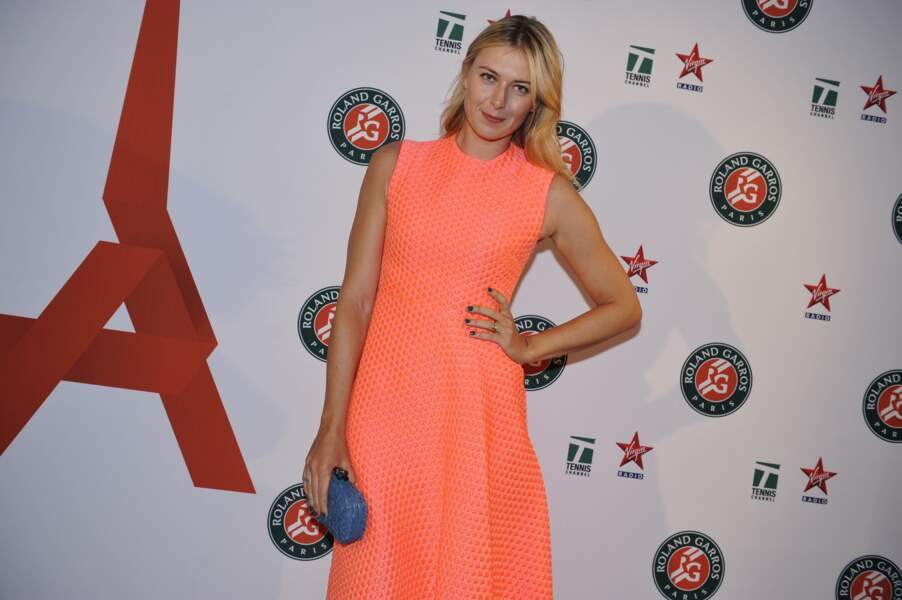 Sa tombeuse, Maria Sharapova, toujours aussi sublime