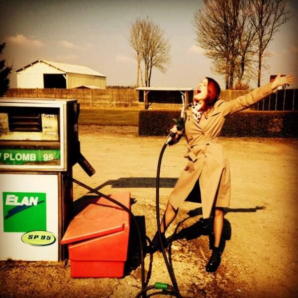 """Répétition sur la route de Bruay... Elodie """"carbure au soleil"""" !"""