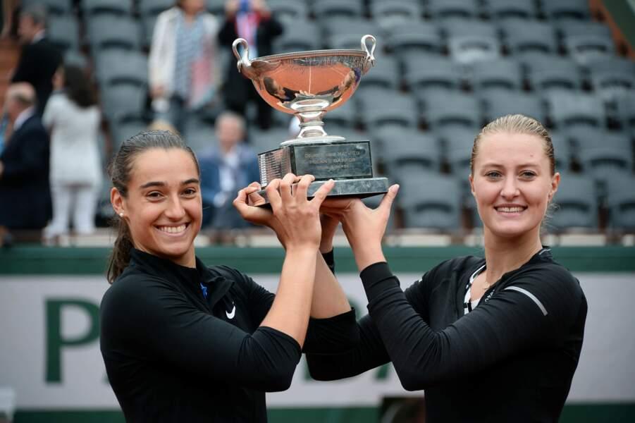 En 2016, la paire Caroline Garcia-Kristina Mladenovic est sacrée en double dames