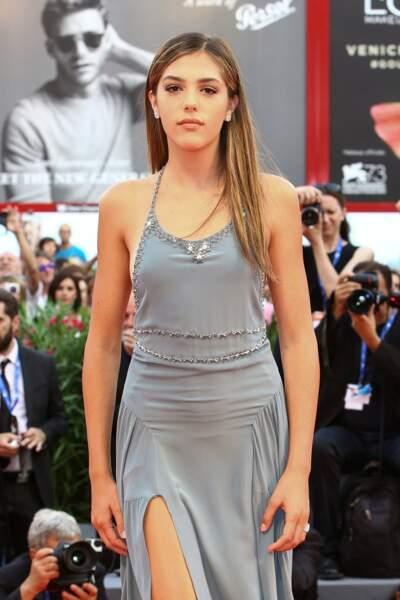 La jeune Sistine Stallone, 18 ans, fille de... Sylvester Stallone