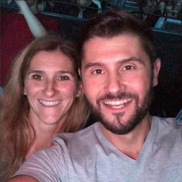 Christophe Beaugrand et sa sœur Nathalie