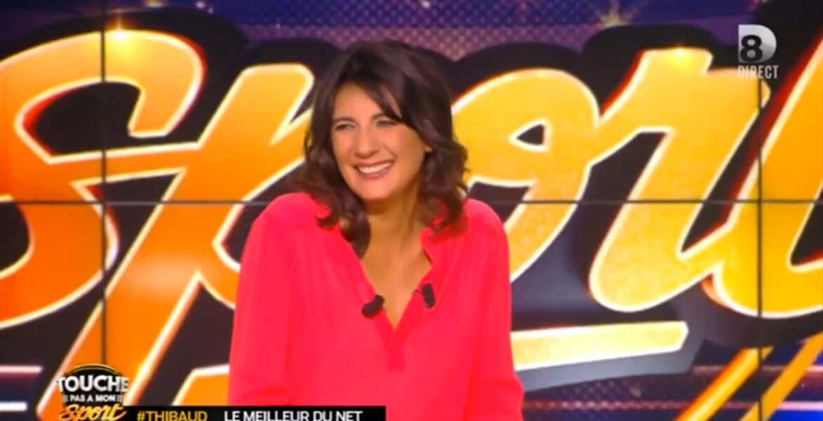 Et on termine par ce joli top d'Estelle Denis, très en beauté !