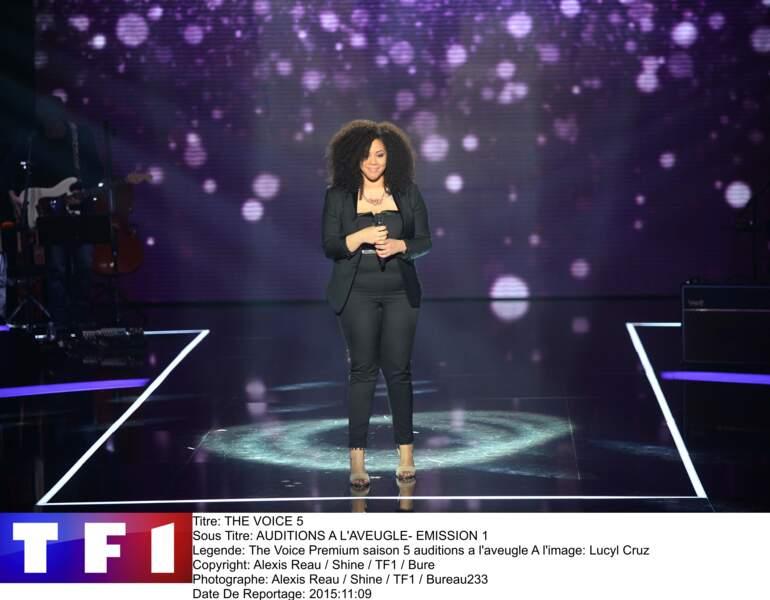 """Sur """"Alive"""" de Sia, Lucyl Cruz a donné des frissons à Florent Pagny"""