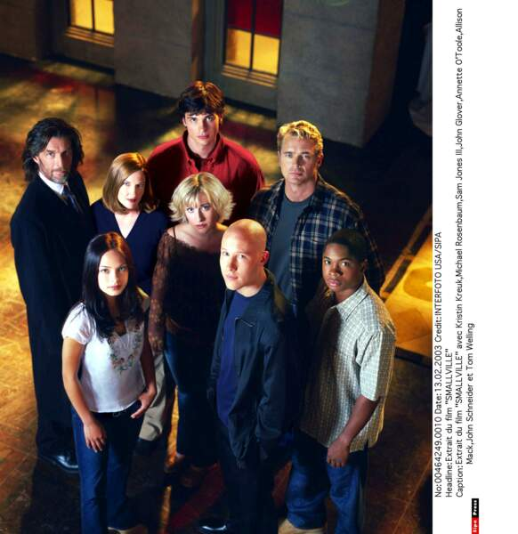 Le casting de Smallville a beaucoup changé et évolué en quelques années !