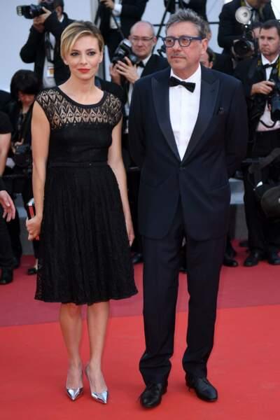 L'actrice italienne Jasmine Trinca... un peu sage ce look, non ?
