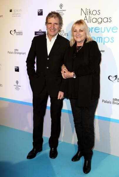Gérard Leclerc et sa femme Julie d'Europe 1